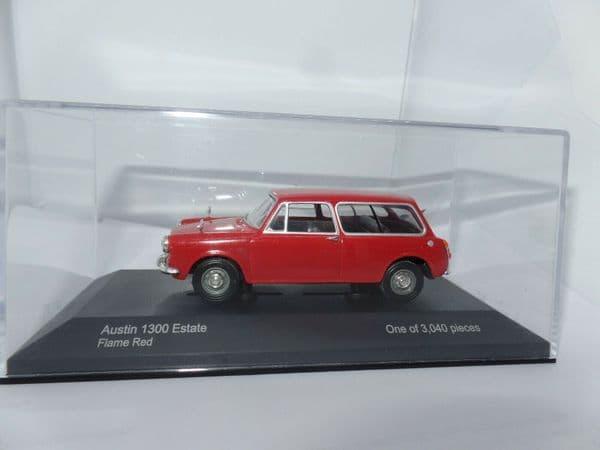 Corgi Lledo Vanguards VA05602 1/43 Scale Austin 1300 Estate Flame Red